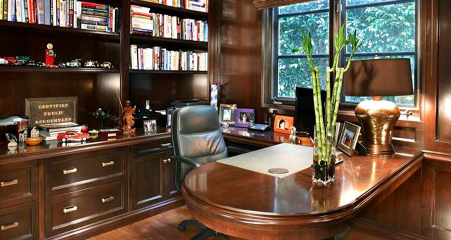 His Home Office